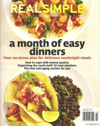 Real simple front cover october 2011 www.themodmobile.com